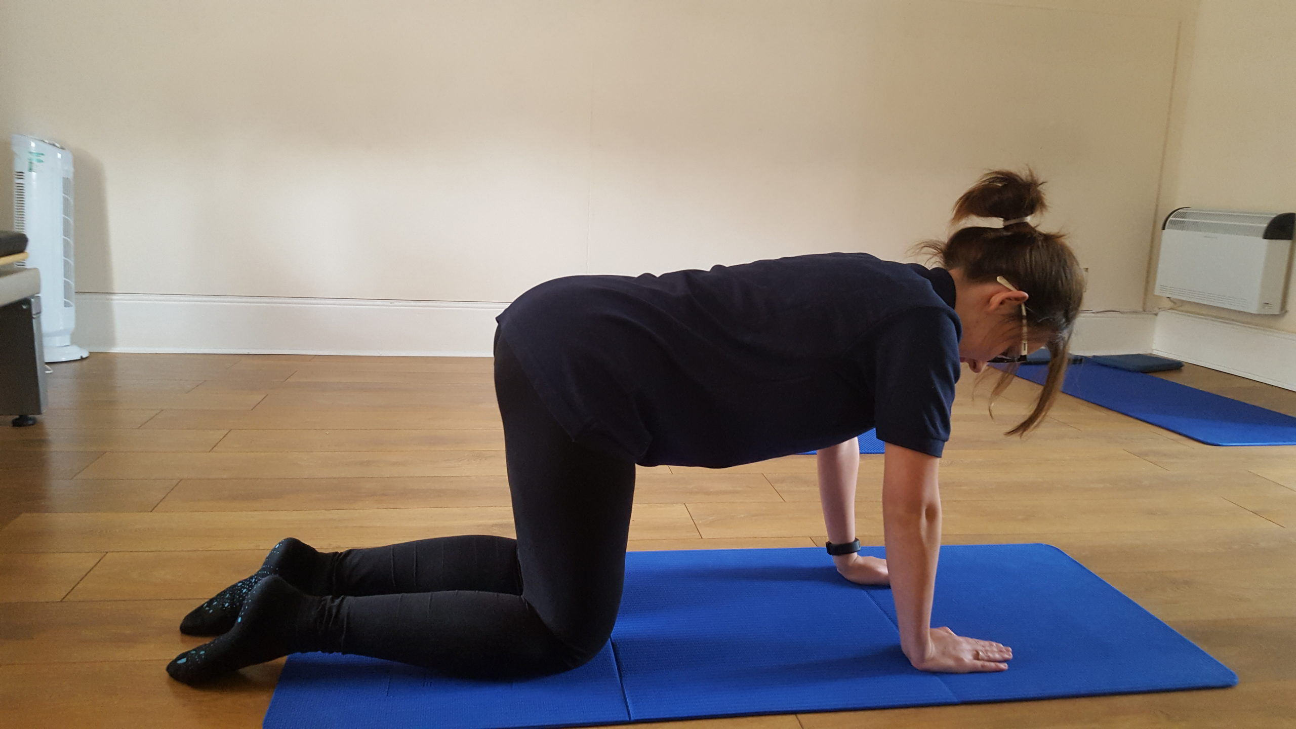 pilates for back pain - swim lane start Woodside Clinic osteopathy pilates in Leighton Buzzard