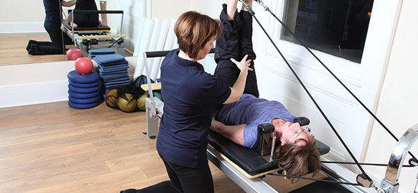 reformer pilates at Woodside Clinic in Leighton Buzzard